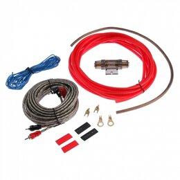 Кабели и разъемы - Набор кабелей для авто акустики (5м) (6GA), 0