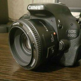 Объективы - Объектив для фотоаппарата Canon 50мм Yongnuo, 0