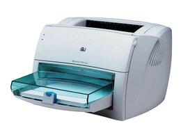 Принтеры и МФУ - Лазерный принтер HP LJ 1000 USB полностью рабочий, 0