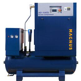 Воздушные компрессоры - Компрессор винтовой Magnus AE1-11 ATD-10 бар, 0