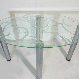 Тумбы - Стеклянный стол, 0