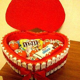 Рукоделие, поделки и сопутствующие товары - Сердечко из конфет, 0