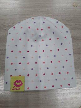 Головные уборы - шапка тонкая для девочки , 0