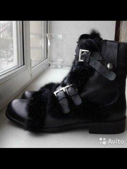 Сапоги - Сапоги ботинки новые мужские 43 черные кожа зима…, 0