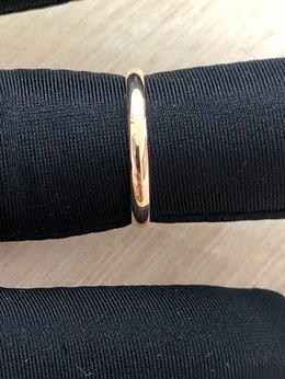 Кольца и перстни - Золотое обручальное кольцо 17 размер, 0