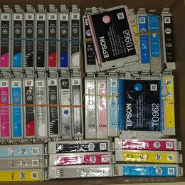 Картриджи - Оригинальные (Почти все ПУСТЫЕ) картриджи от Epson R1800 R1900, R2000, R2880, 0