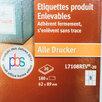 Самоклеящияся этикетки Avery прямоугольные 62x89мм по цене 1500₽ - Бумага и пленка, фото 2