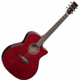 Акустические и классические гитары - Электроакустическая гитара Woodcraft W-7CE/WR, 0