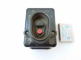 Электроустановочные изделия - Выключатель на 380в., 0