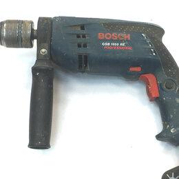 Дрели и строительные миксеры - Дрель Bosch GBM 1600 RE, 0