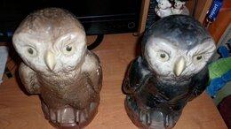 Статуэтки и фигурки - Керамические совы для интерьера, 0