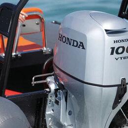 Двигатель и комплектующие  - 4х-тактный Лодочный мотор Honda BF 100 lrtu 100, 0