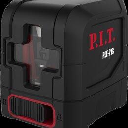 Измерительные инструменты и приборы - Лазерный уровень P.I.T. PLE-2B (Зеленый цвет луча), 0