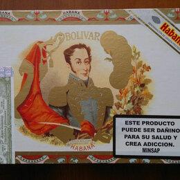 Другое - BOLIVAR (Куба) + коробка лучин, 0