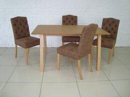 Столы и столики - Обеденная группа (Стол + 4 стула) массив бука, 0