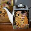 """Чайник заварочный Климт """"Поцелуй"""" по цене 2500₽ - Заварочные чайники, фото 0"""