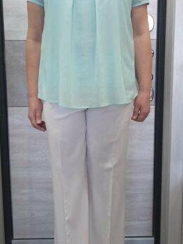 Блузки и кофточки - Женская блуза цвета аквамарин  раз.48-50, 0