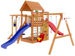 Игровые и спортивные комплексы и горки - Детская площадка IgraGrad Крафт Pro 5, 0