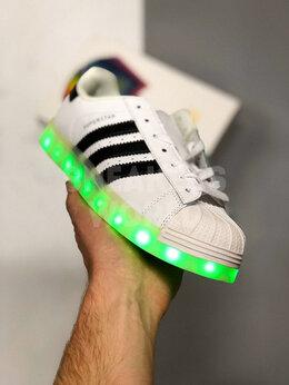 Кроссовки и кеды - Adidas Superstar светящиеся, 0