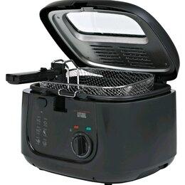 Фритюрницы - Фритюрница GFGril GFF-05 Compact черный, 0