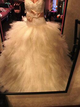 Платья - Продажа. Свадебное платье новое, р.44, 0