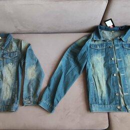 Куртки - Куртка Джинсовая (М, L, XL ) (Новое), 0