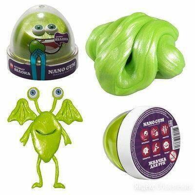 """""""Жвачка для рук """"Nano gum"""" яблоко по цене 350₽ - Игровые приставки, фото 0"""