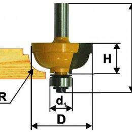 Для фрезеров - Фреза кром. калевочная ф25,4х13мм R4,8мм хв 8мм, 0