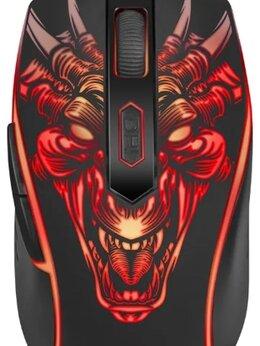 Мыши - Мышь игровая Defender Monstro GM-510L оптика 6 кно, 0