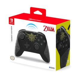 Игровые приставки - Геймпад Switch Hori Wireless Horipad (Zelda), 0
