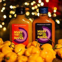 Продукты - Супер острые соусы Moon Hot Saucе и перцы Moon Hot Peppers, 0