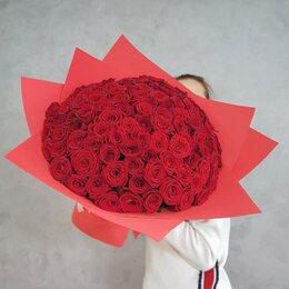 Цветы, букеты, композиции - 101 роза. Букет №91, 0