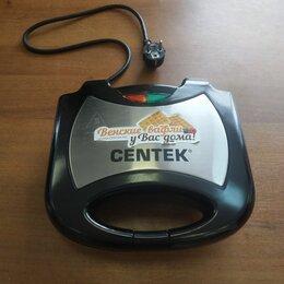 Сэндвичницы и приборы для выпечки - Вафельница Centek CT-1447 800 Вт, 0