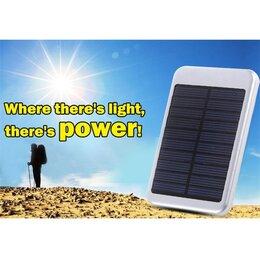 Зарядные устройства и адаптеры - Power Bank на солнечных батареях 20000 mAh, 0