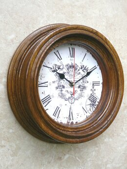 Часы настенные - Часы каютные классические большие. N 16, 0