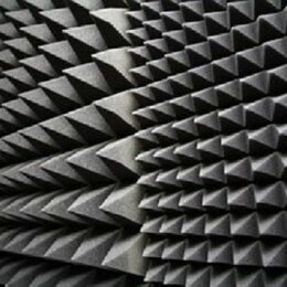 Кронштейны и стойки - Акустический ППУ SPG 2236 «Пирамида» 60 мм 2х1 (осн. 15 мм), темно-серый-графит, 0