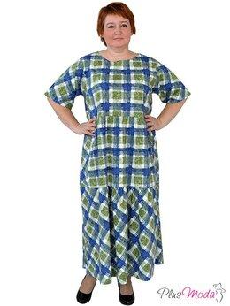 Футболки и топы - Платье женское в стиле бохо больших размеров Плюс , 0