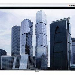 Аксессуары для проекторов - Экран Lumien Eco Picture 160х160 см Matte White, 0