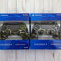Рули, джойстики, геймпады - Джойстик PS4 Dualshock беспроводной контроллер, 0
