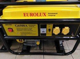 Электрогенераторы - Электрогенератор Eurolux G6500A, 0