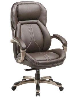 Компьютерные кресла - Кресло руководителя T-9921/BROWN, 0