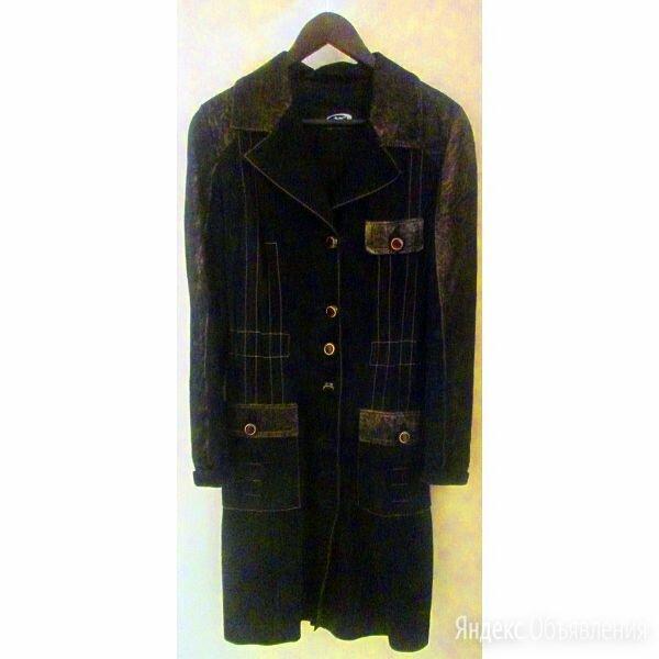 Замшевое женское пальто размер 44 - 46 по цене 6000₽ - Пальто, фото 0