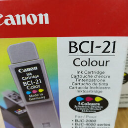 Картриджи - Картриджи Canon BCI-21 color, 0