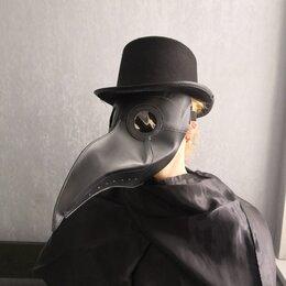 Карнавальные и театральные костюмы - Шляпа Чумного доктора с полями, 0