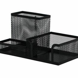 Витрины - Подставка д/канц принад метал сетч 3 отд…, 0