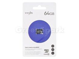 Карты памяти - Карта памяти MicroSD 64GB VIXION Class 10 без…, 0
