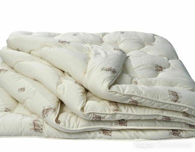 Одеяло с верблюжьей шерстью по цене 750₽ - Одеяла, фото 0