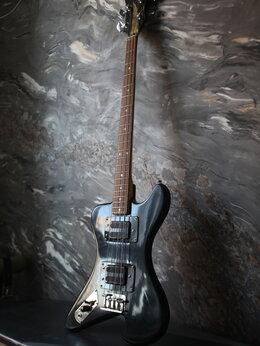 Электрогитары и бас-гитары - Бас леворукий Tornado / Jolana (Обмен), 0