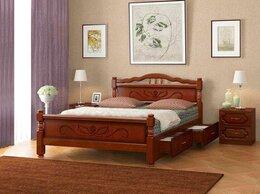 Кровати - Кровать из массива Карина-5 с ящиками, 0