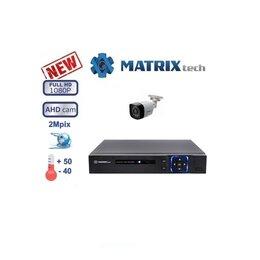 Камеры видеонаблюдения - Комплект видеонаблюдения на 1 камеры Matrix Tech., 0